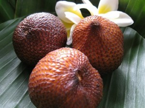 Salak Fruit for Diet and Diarrhea Remedy